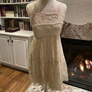 Lace Dress fully lined